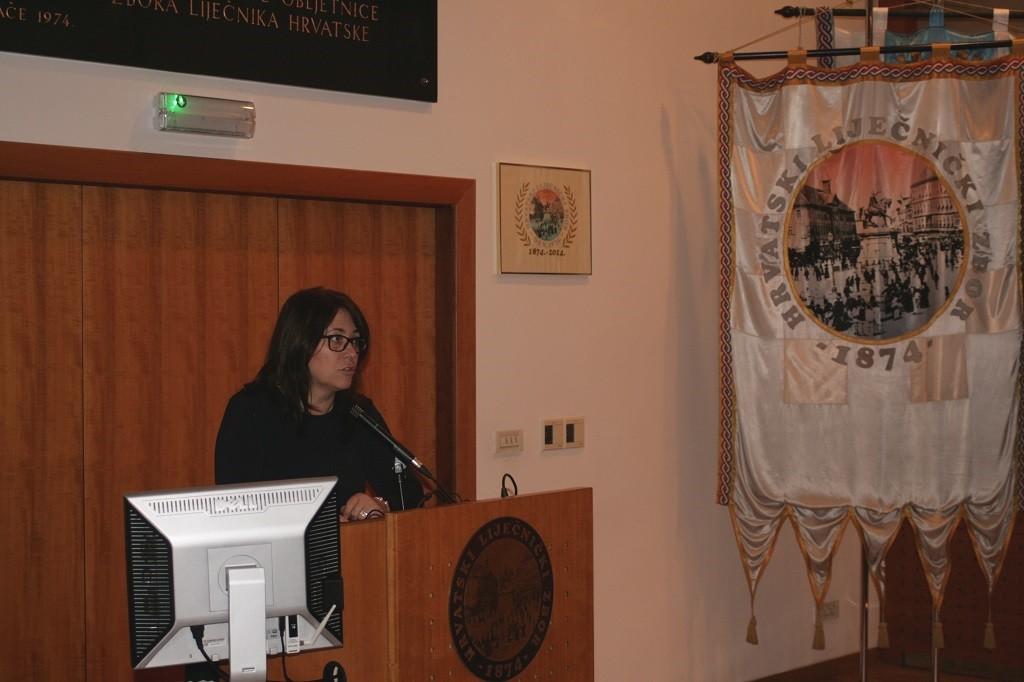 Dr. Željka Karin, predsjednica Hrvatskoga društva za školsku i sveučilišnu medicinu