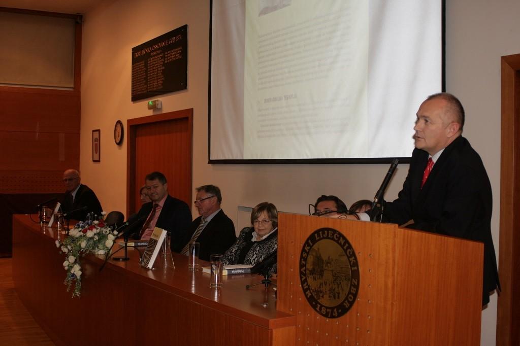 Prof. dr. sc. Dražen Begić, Promocija knjige Psihijatrija održana u Hrvatskome liječničkom zboru