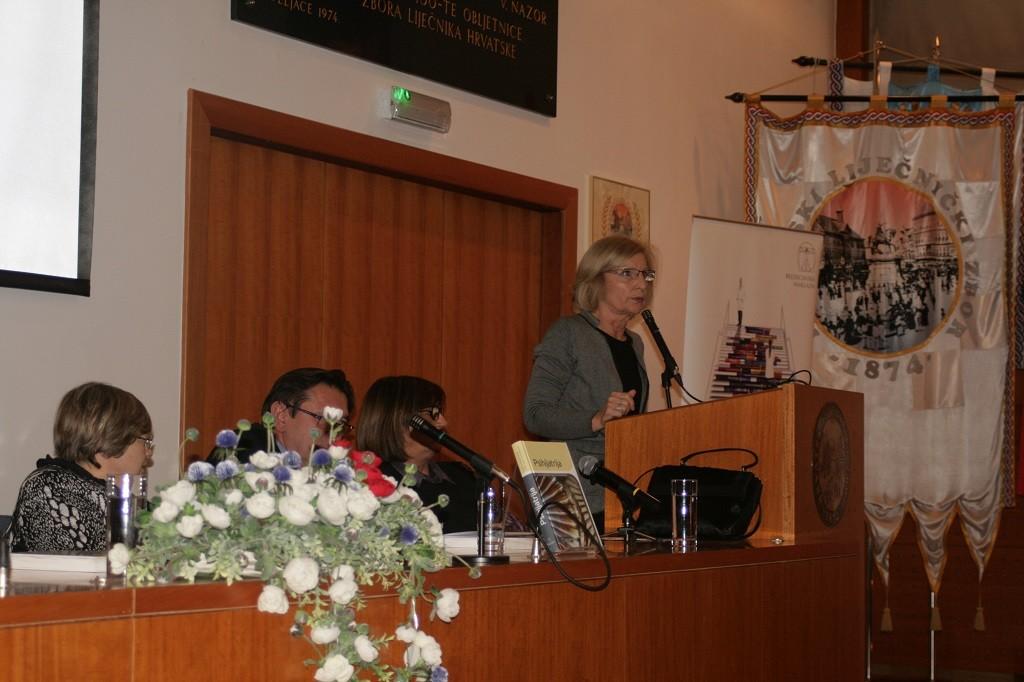 Prof. dr. sc. Vesna Medved, Promocija knjige Psihijatrija održana u Hrvatskome liječničkom zboru