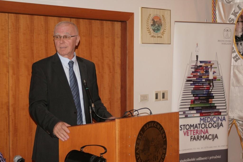 Prof. dr. sc. Vlado Jukić, Promocija knjige Psihijatrija održana u Hrvatskome liječničkom zboru