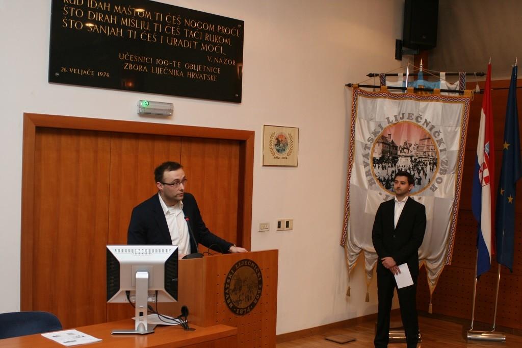Davor Kust, predsjednik Povjerenstva Izvršnoga odbora HLK-a za mlade liječnike
