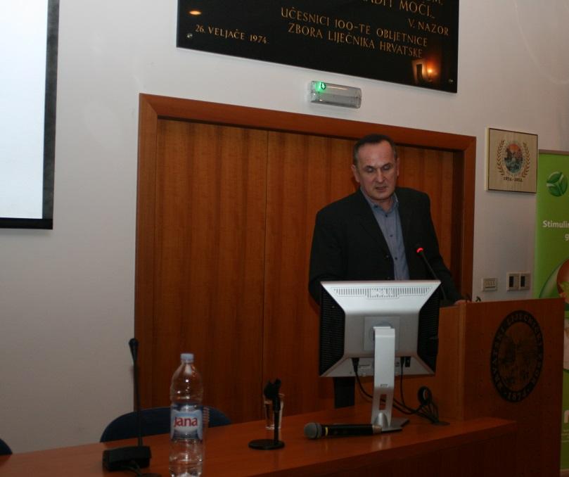 Doc. dr. sc. Joško Zekan na simpoziju o suvremenim načinima liječenja HPV infekcija u Hrvatskome liječničkom zboru