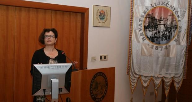 Doc. dr. sc. Marina Šagud, specijalistica psihijatrije doc. dr. sc. Marina Šagud s Klinike za psihijatriju KBC Zagreb održala predavanje o depresiji u Hrvatskome liječničkom zboru