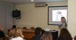 Dr. Nina Dabelić održala je predavanje na stručnom sastanku o imunoterapiji tumora u Hrvatskome liječničkom zboru