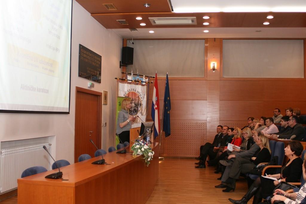 Prof. dr. sc. Mirna Šitum na simpoziju o suvremenim načinima liječenja HPV infekcija u Hrvatskome liječničkom zboru