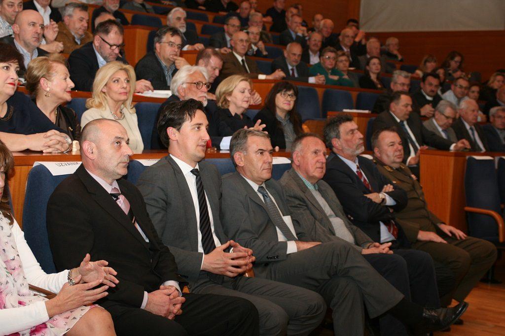Ministar branitelja Tomo Medved i izaslanik predsjednice RH dr. Tomislav Madžar
