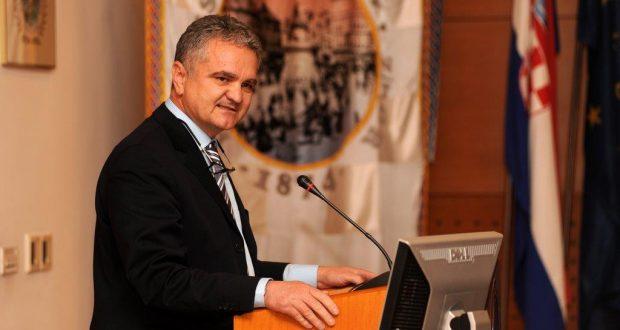 Prof. dr. sc. Željko Krznarić na obilježavanju 55. godina postojanja Akademije medicinskih znanosti Hrvatske u Hrvatskome liječničkom zboru