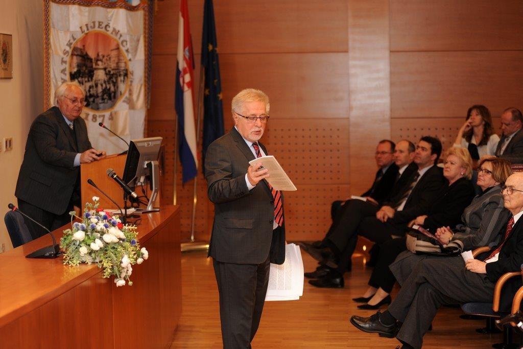 Prof. dr. sc. Vladimir Andročec i prof. dr. sc. Gojko Nikolić