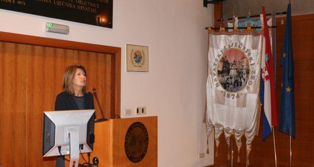 Prof. dr. sc. Jasna Mesaric održala je predavanje u Hrvatskome liječničkom zboru na temu kvalitete zdravstvene zaštite i sigurnosti pacijenata i zdravstvenog osoblja