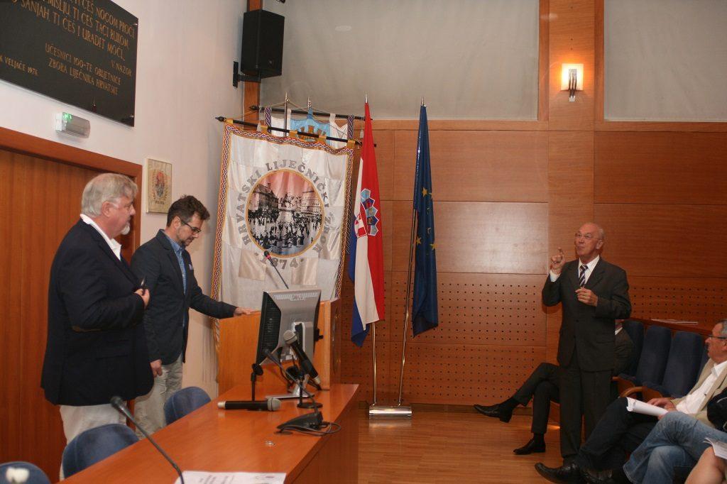 Prof. Wolfgang Dippold i prof. dr. sc. Mijo Bergovec