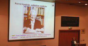 Vlasta Vučevac, dr. med održala predavanje na temu palijativne medicine u Hrvatskom liječničkom zboru