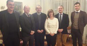 Dr. Jacob Sosna i Izvršni odbor HLZ-a